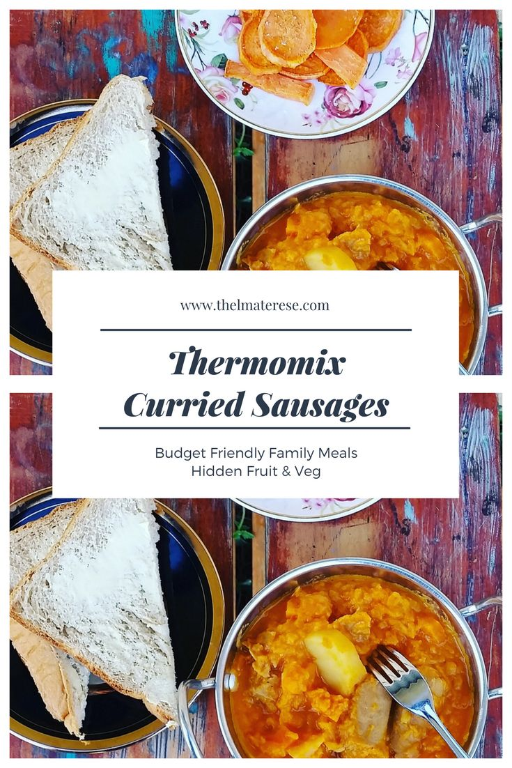 Thermomix curried sausages is definitely a comfort food for me and a family favourite.