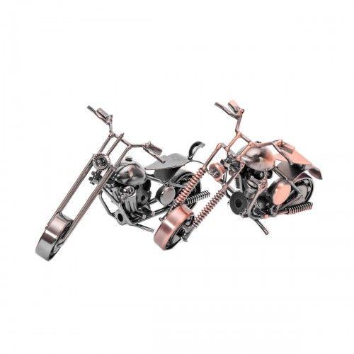 Pengalap Tembaga | hiasan sepeda motor besi antik dekorasi pajangan