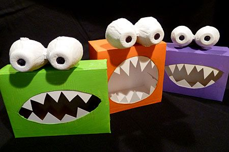 cute halloween crafts to make | For complete directions from ZiggityZoom :