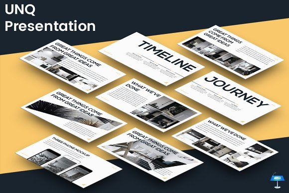 UNQ - Keynote Template by inspirasign on @creativemarket