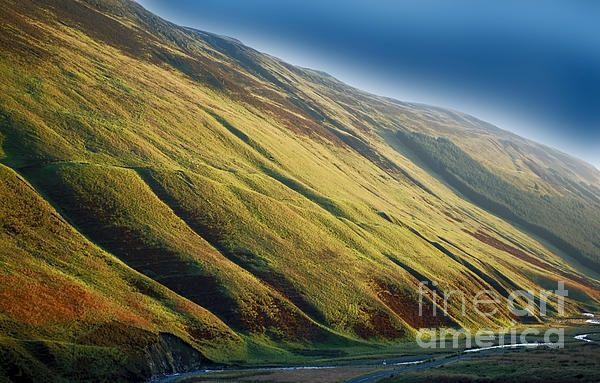 Galloway Hills in Scotland.