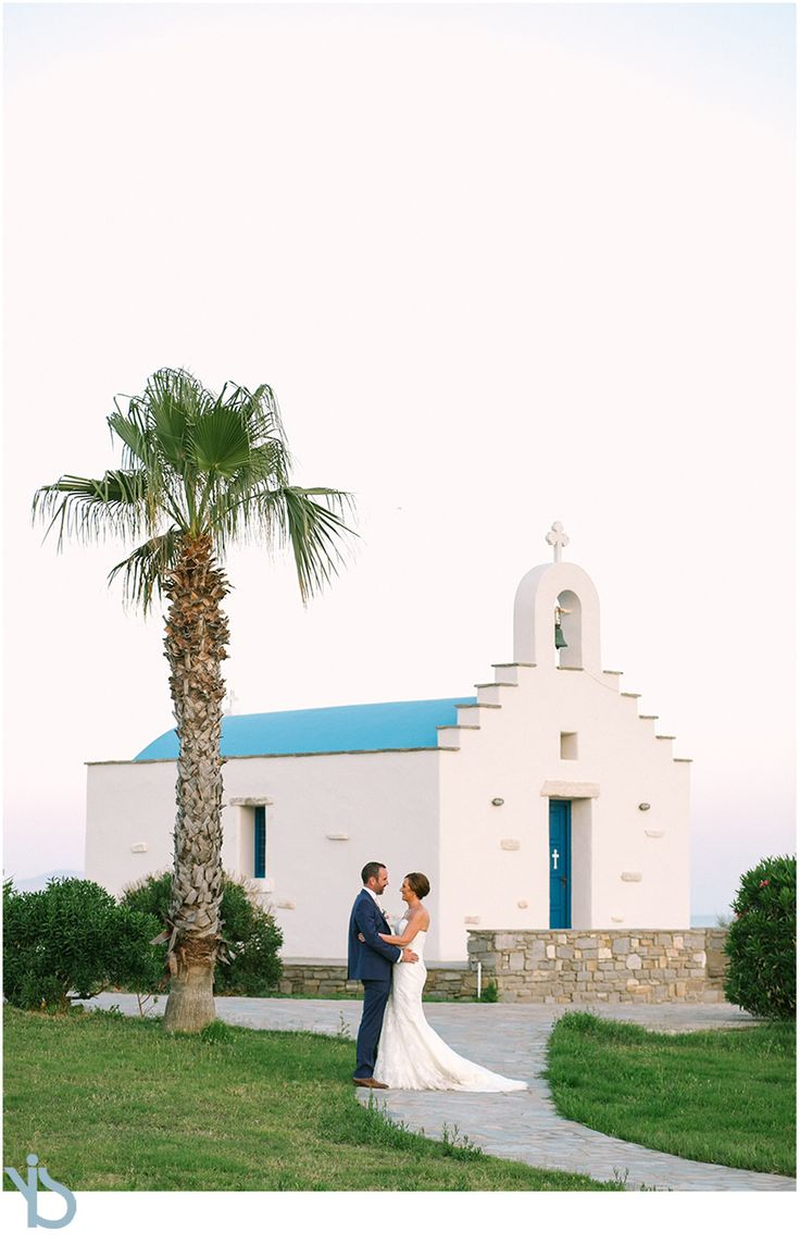 Catholic wedding in Paros