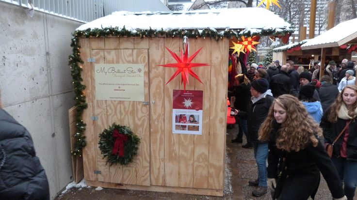 MyBrilliantStar´s booth #mybrilliantstar #herrnhutstar #moravianstar #christmas #decoration #minneapolisholidaymarket