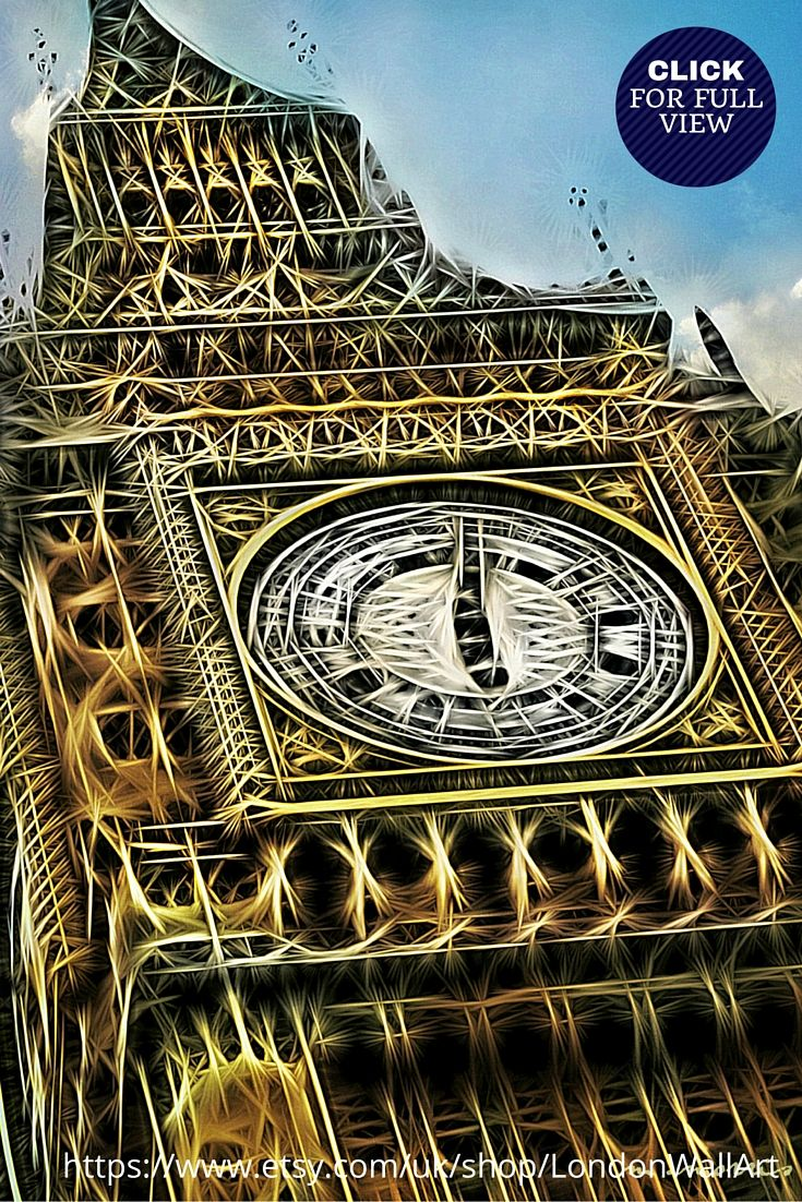 https://www.etsy.com/uk/listing/241443955/souvenirs-from-london-london-gifts?ref=shop_home_active_14 BIG BEN PRINT, LONDON CANVAS ART **Limited Edition Big Ben print**:  Bring a touch of London into your home with this bold and vibrant London canvas art piece, of Elizabeth Tower. Made of premium 100% pure white cotton and have a chunky deep edged pine frame of 3.8cm to give them a luxurious finish.   AVAILABLE IN 3 SIZES