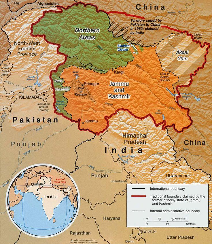 25 best Map of kashmir ideas on Pinterest  Kashmir map Indian