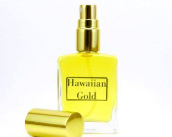 Hawaiian Gold Vanilla Perfume Sandalwood Perfume Natural