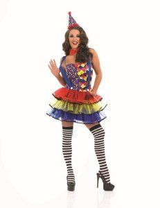 Circus Clown Sexy Female Fancy Dress Costume - Size XL (US 18-20): http://www.halloweenfamilyfun.com/Sexy-Costumes.html #fairy_tale_costumes #disney_adult_costumes #adulthalloweencostumes #halloween 2013 #snowwhitecostume #halloweencostumesfemaleadult #princess_female_costume #robin_costume_batman #best_adult_costume #starwarshalloweencostumes