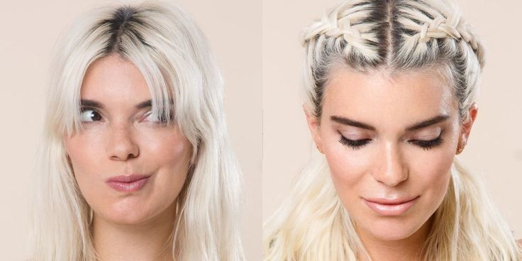 7 Super-easy ways to make it look like you don't even have bangs - because sometimes bangs are a pain in the butt.