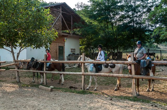Horse riding in Slanic Prahova, Romania