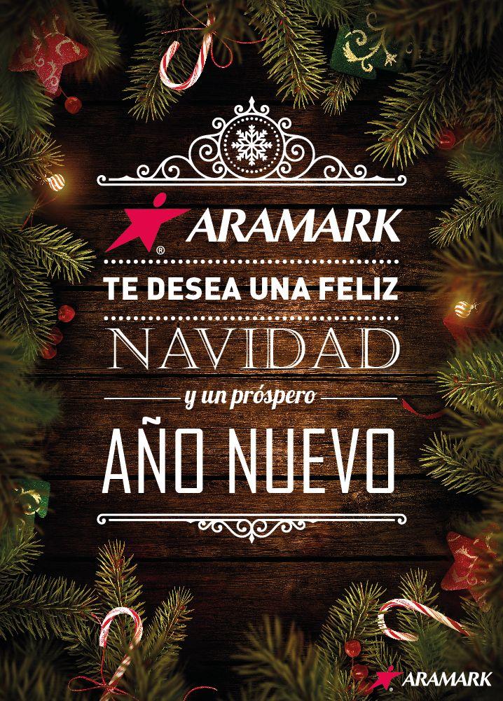 Propuesta Afiche Navidad Aramark. Redacción y Diseño.