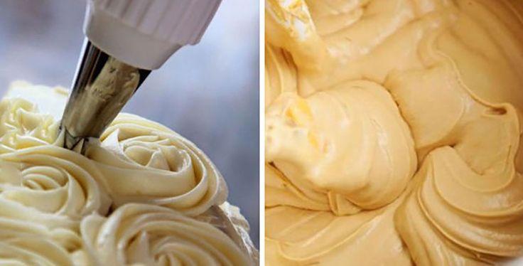 Így készül a tökéletes vaníliakrém, torták megkenésére és díszítéséhez is jó!