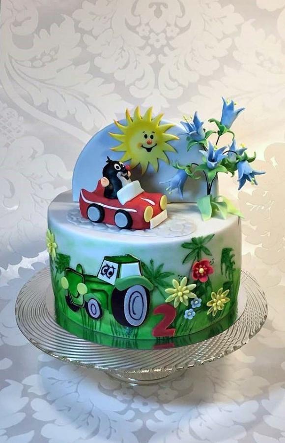 Pentru doi băieți mici - Tort de Frufi - CakesDecor