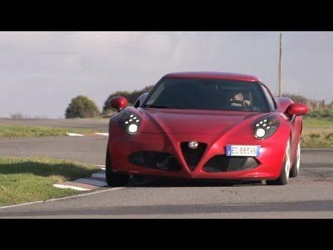 Chris Harris Pits The Alfa Romeo 4C Against The Porsche Cayman: Video