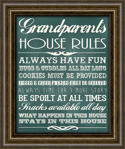 Gifts For Grandpa  Grandparents Wall Decor  by iNKYSQUIDSTUDIO, $13.00