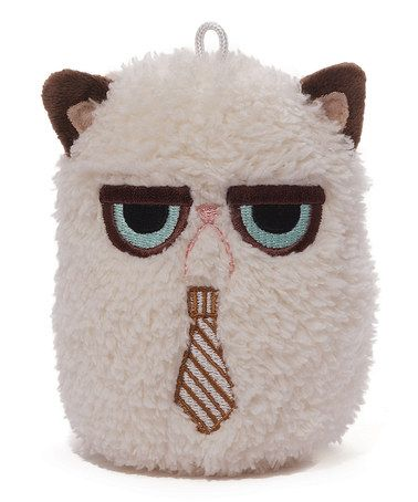 Grumpy Cat Tie Mini Plush by Grumpy Cat #zulily #zulilyfinds