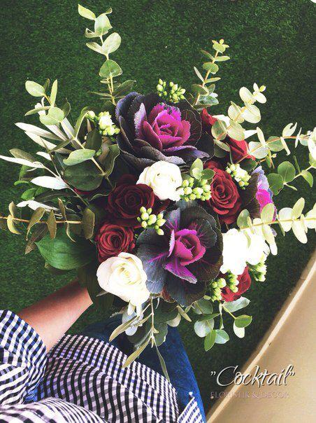 Bouquet with decoration lohana
