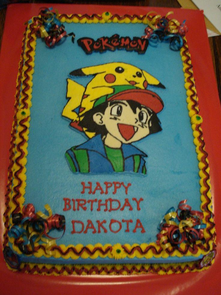 Pokemon Cakes Dakota S Pokemon Cake Delicious Dinners
