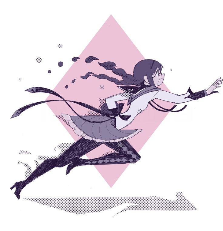 Puella Magi Madoka Magica - Homura Akemi