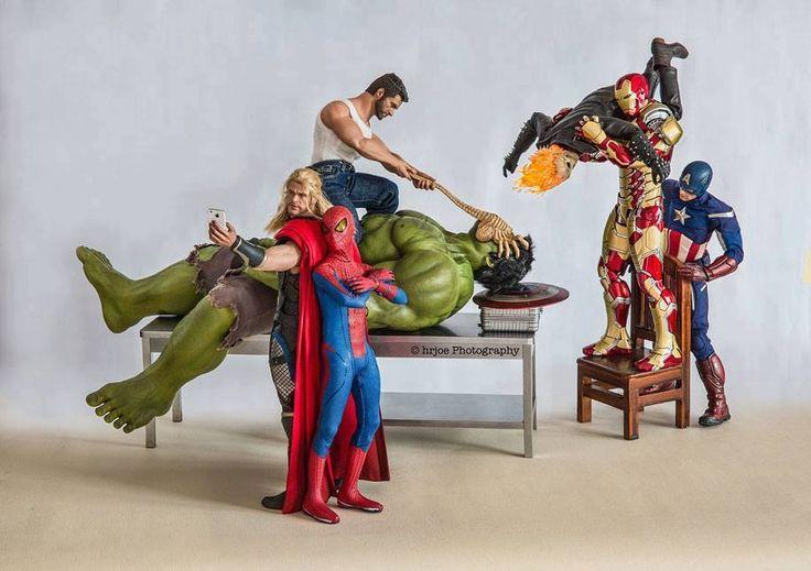 Los Avengers como nunca los habías visto