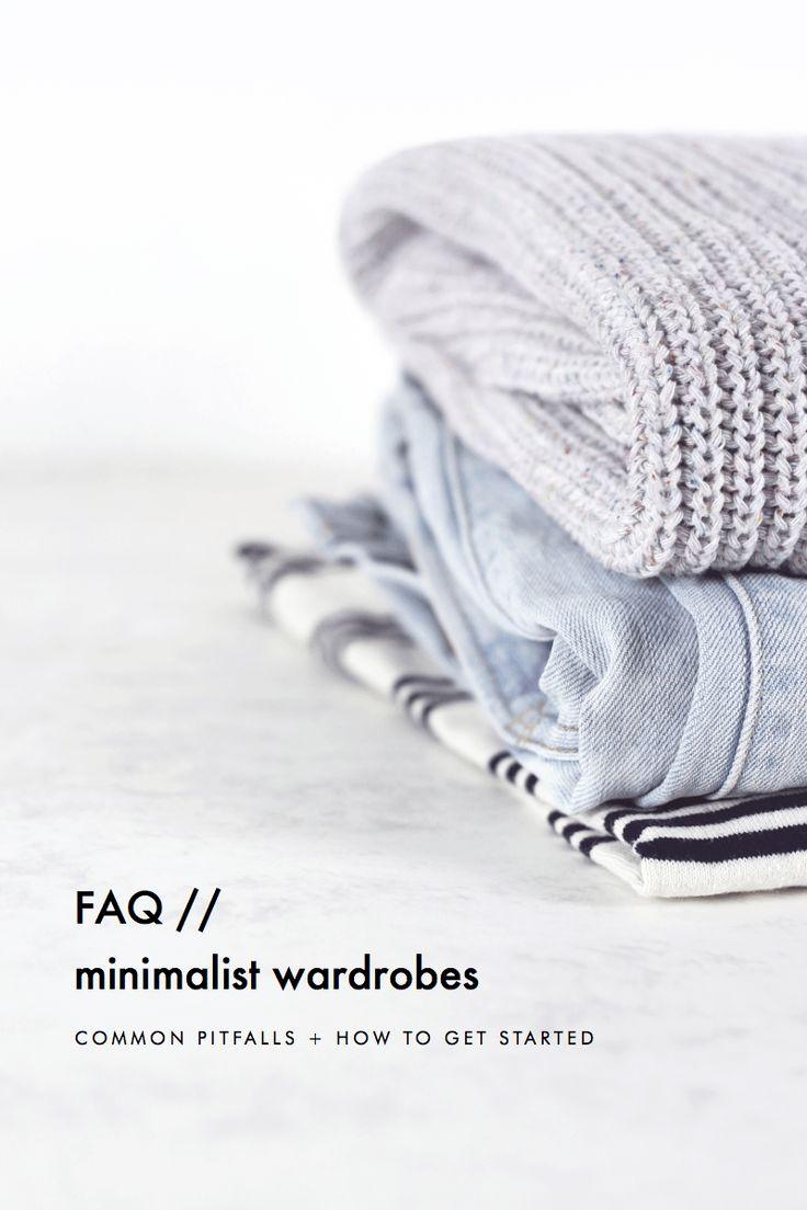Minimalist wardrobe faq common pitfalls how to get for Who started minimalism