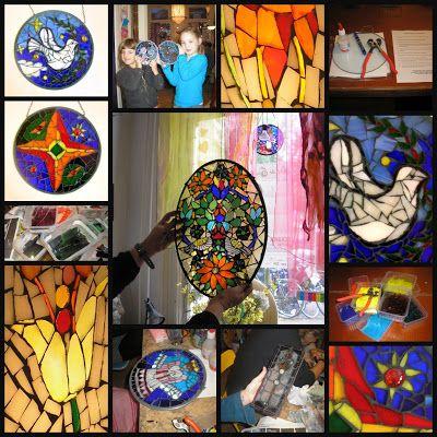 Wapiti Haags Mozaiek en Zilver Atelier: Workshops Glasmozaiek