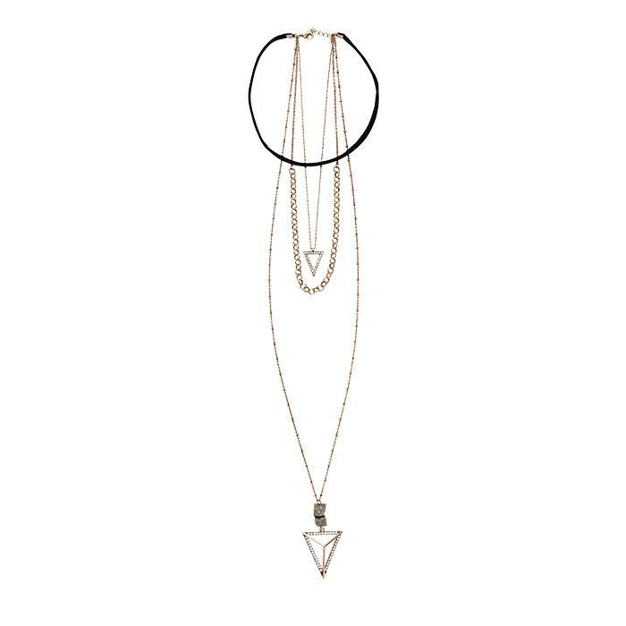 Mark By Avon Hang Together Necklace Avon Jewelry Www Youravon Com Melissarivera Luxury Jewelry Avon Fashion Semi Precious