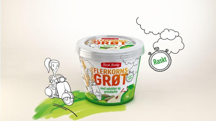 Creative Agency: The Good Guys AS  Art Director, Illustrator: Sasha Milic  Creative Director: Anette Brekke-Bjørkedal  Project Manager: Jan...