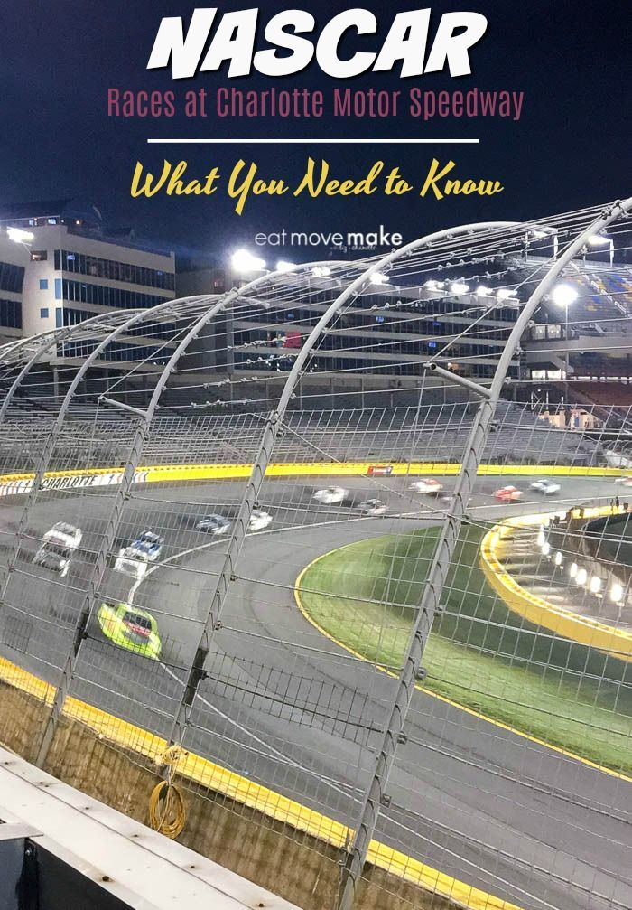 Visiting Cabarrus County, NC for a NASCAR event? These Charlotte Motor Speedway tips will help you be prepared for race day and enjoy the event to its fullest.
