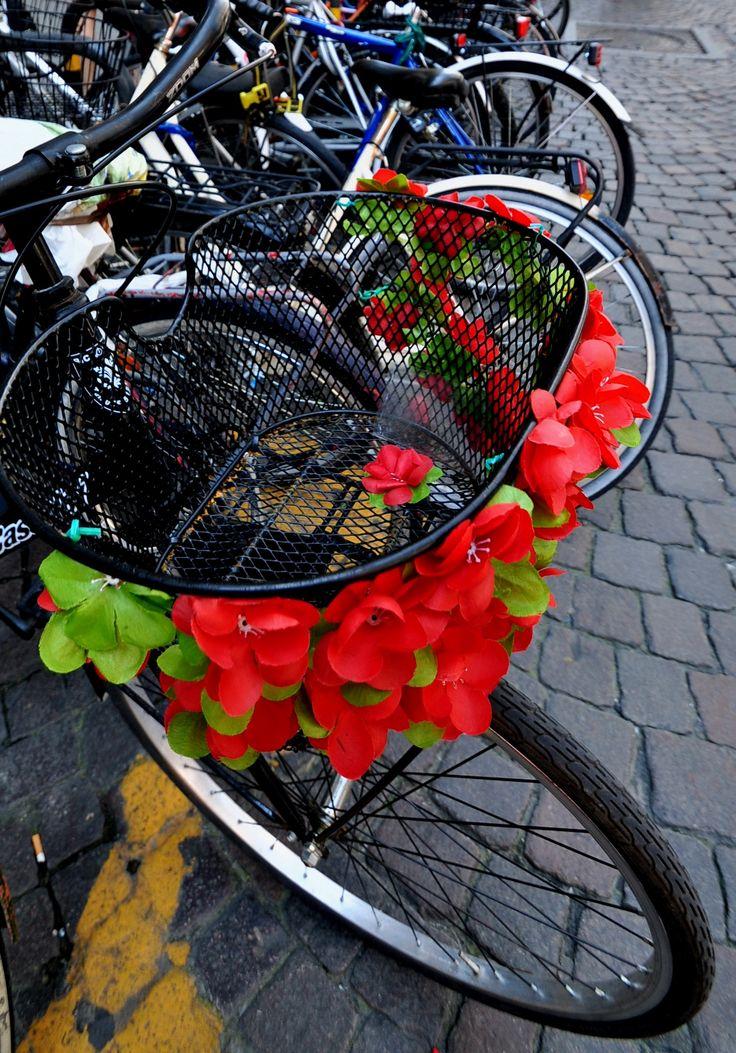 Aparcamiento de bicis en Florencia