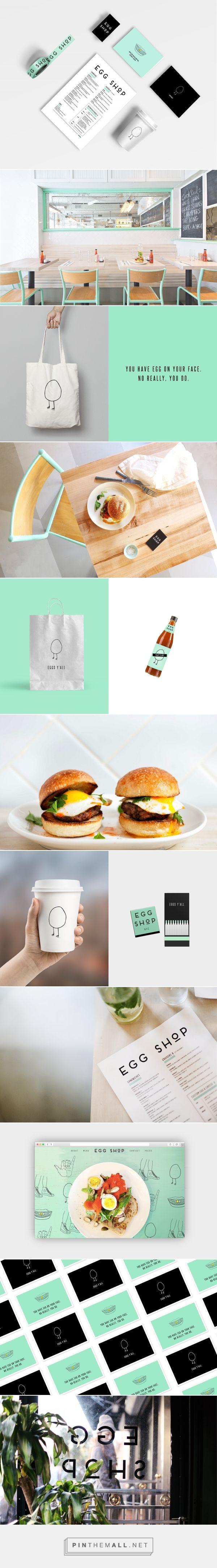 Egg Shop Nyc Restaurant Branding by Katie Minchak   Fivestar Branding Agency – Design and Branding Agency & Curated Inspiration Gallery