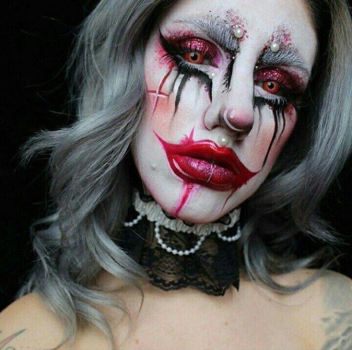 Michael Hussar inspired makeup #halloween #makeup
