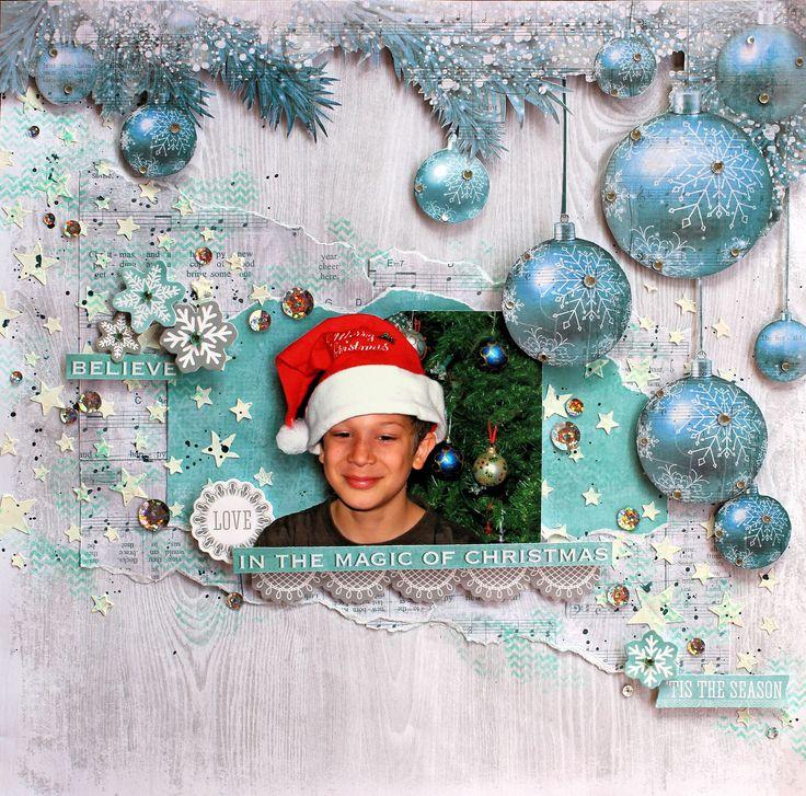 """Believe in the Magic of Christmas - Kaisercraft """"Silver Bells"""" - Kaisercraft…"""
