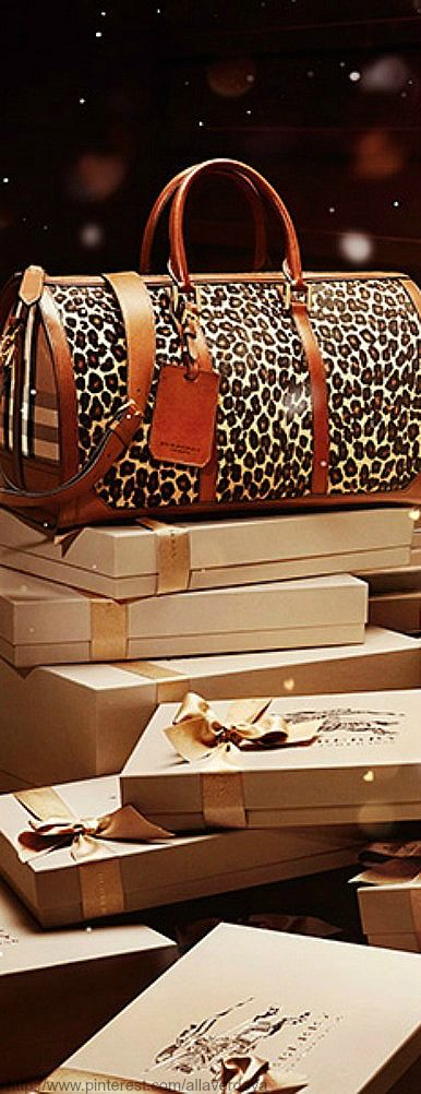 «With love» from Burberry for Christmas ~ They can sent me a parcel & most women ...ANYTIME! Just get it to me soon! ~