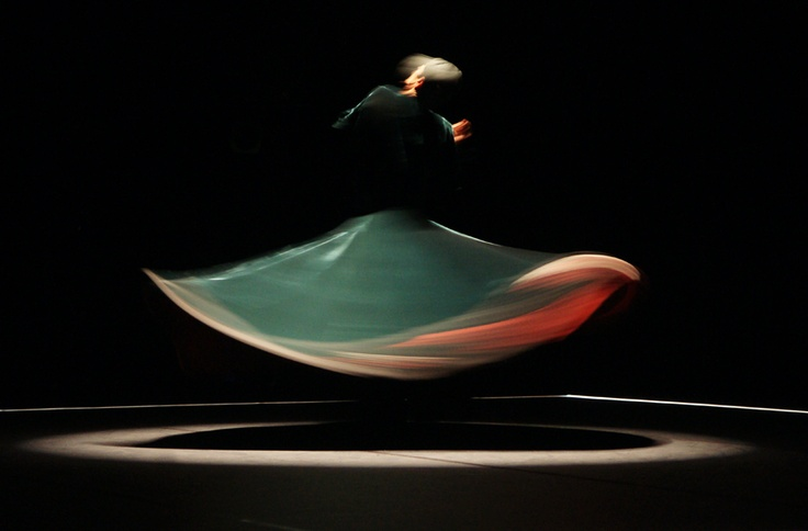 """""""""""God respects you when you work, but He loves you when you dance."""" ~Sufi Saying"""