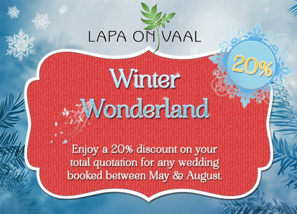 Our amazing winter special