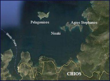 Chios, Agios Stephanos, Nisaki, Pelagonisos