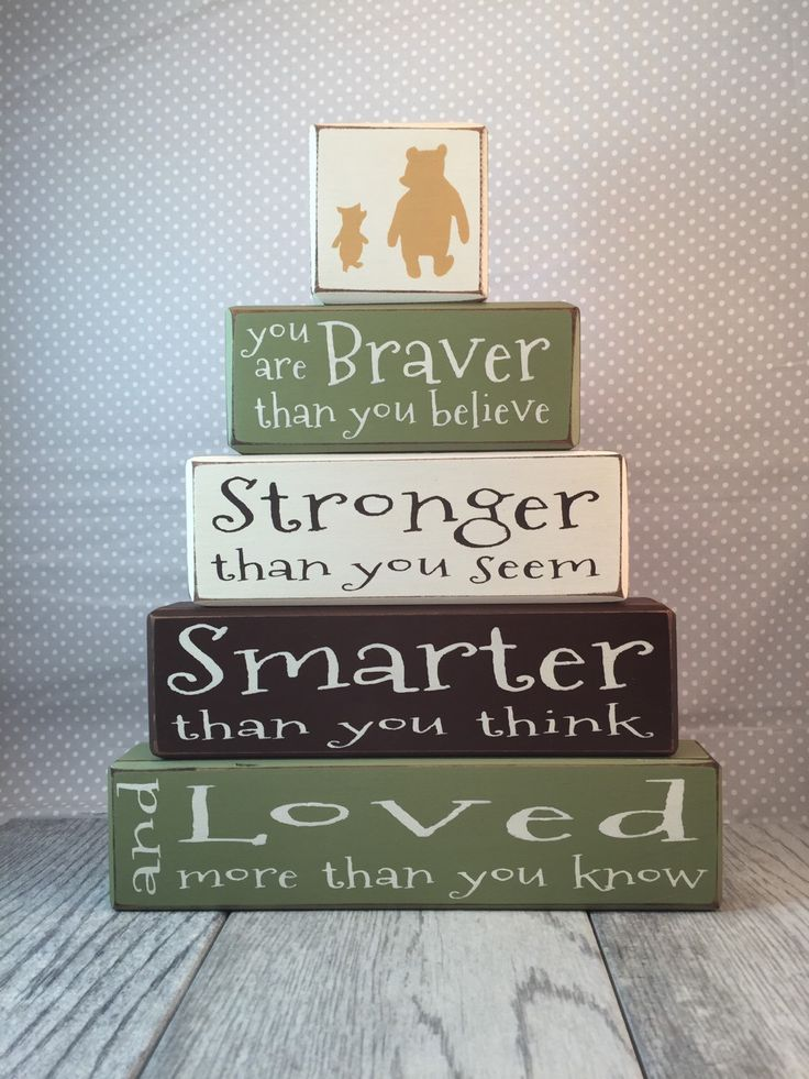 Classic Winnie the Pooh nursery decor painted blocks piglet A.A. Milne classic pooh disney stacking blocks baby shower centerpiece by AppleJackDesign on Etsy https://www.etsy.com/listing/242216073/classic-winnie-the-pooh-nursery-decor