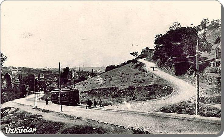 Fıstıkağacı Bağlarbaşı yolu - 1930
