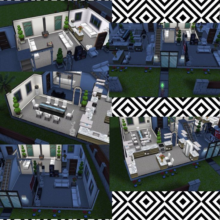 53 best images about sims on pinterest house design for Keralis modern house 9 part 1