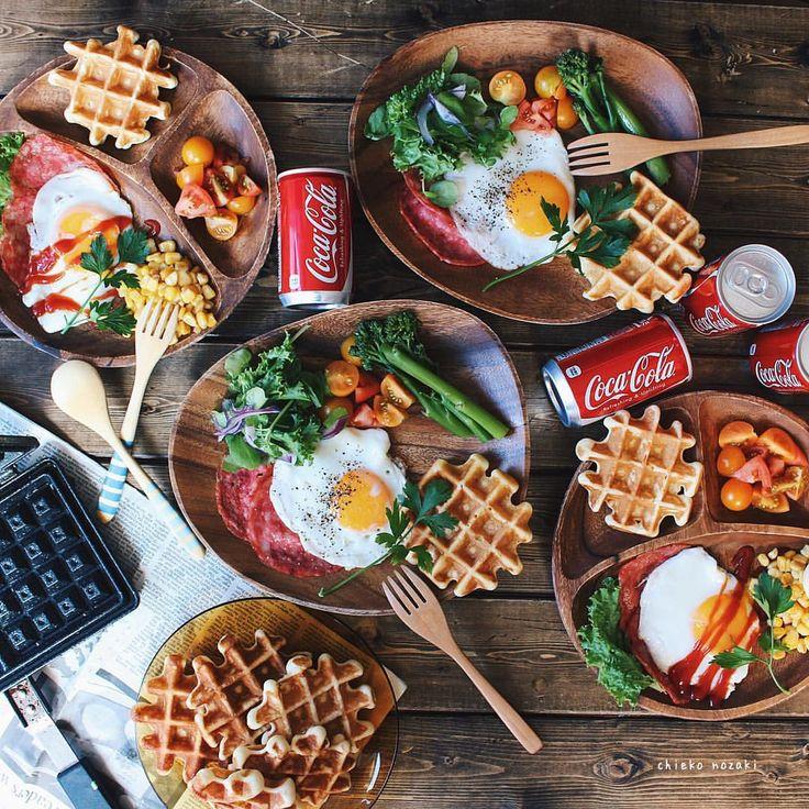 cosmoslunch - *  *  goodmorning♡**  *  *  #Breakfast#goodmorning...