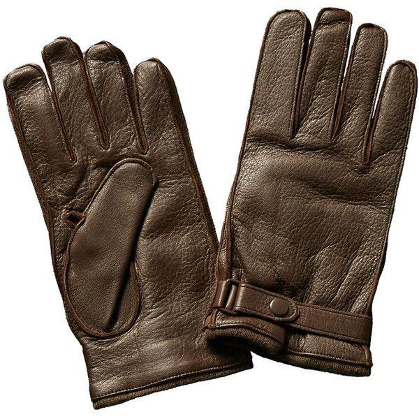 Portolano Men's Brown Leather & Cashmere-Blend Gloves (10.415 RUB) ❤ liked on Polyvore featuring men's fashion, men's accessories, men's gloves, nocolor, mens brown leather gloves, mens leather gloves, mens gloves and mens leather accessories