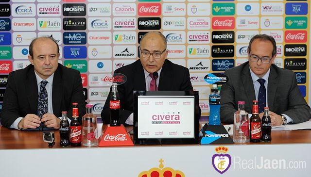 Sebastián Moya, nuevo presidente del Real Jaén tras la dimisión, hoy, de Rafael Teruel