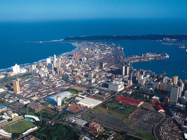 Durban CBD, from Kingsmead to The Bluff