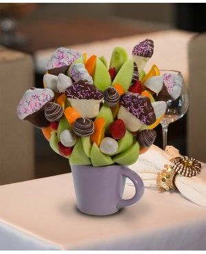 You're a Cupcake Blossom scent free fruit bouquet are great for all occasions and make great gifts ideas or decorations from a proud Canadian Company. Great alternative to traditional flowers or fruit baskets