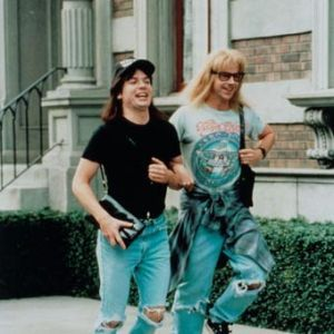 A Wayne and Garth BFF costume will rock everyone's world!