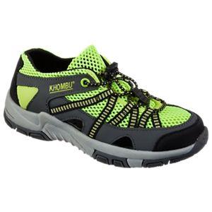 Khombu Threadfin Water Shoes for Kids - Hot Yellow - 2kids