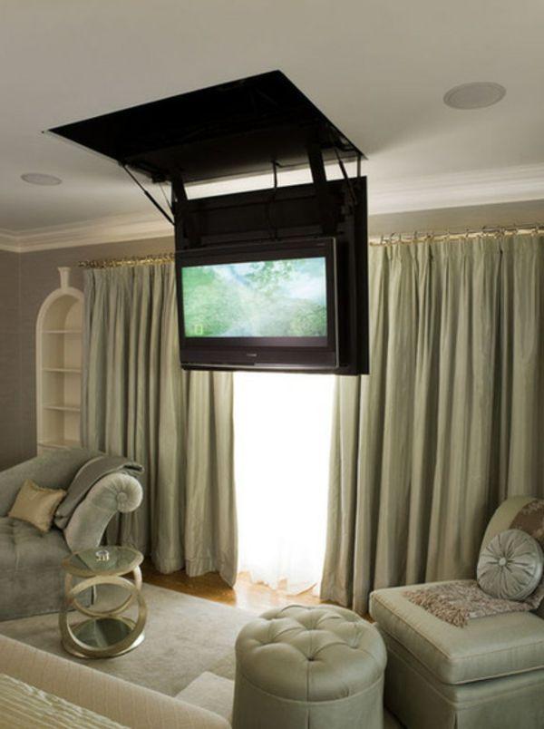 Die besten 25+ TV Wände Ideen auf Pinterest Tv wand do it - fernseher im schlafzimmer