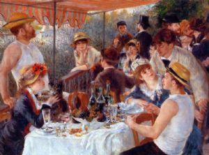 P.A. Renoir; La colazione dei canottieri; 1881; olio su tela; The Phillips Collection, Washington.