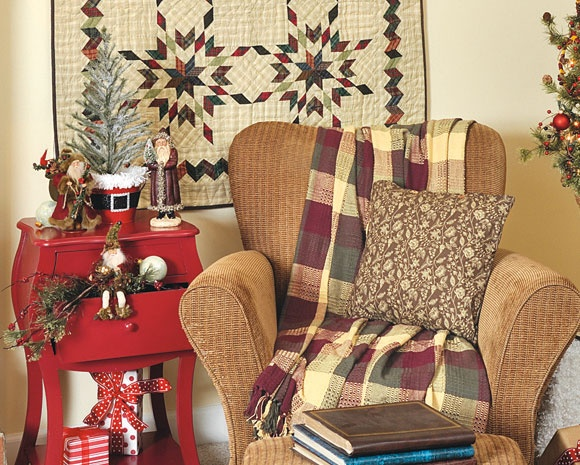 Country Sampler Christmas Decorating Ideas : Best images about country sampler decorating ideas on