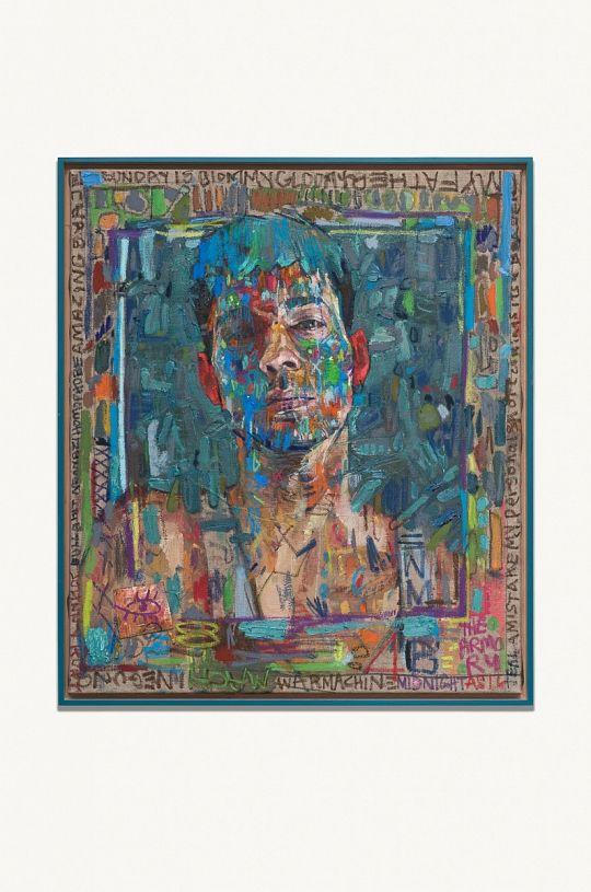 Andrew Salgado | Warmask (Blue) | 2016